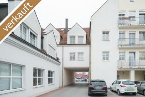 Schöner Innenhof Wohngebäude