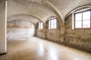 Raum mit schönem Gewölbe