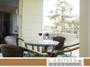 Auf diesem Balkon kann man so richtig entspannen