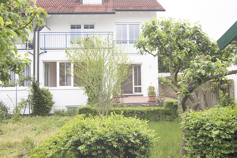 Doppelhaushälfe Außenansicht   Carossa Immobilien Ihr Immobilienmakler in Landshut