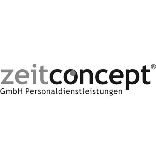 Logo zeitconcept | Kunde von Carossa Immobilien