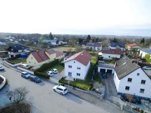 Luftaufnahme Einfamilienhaus