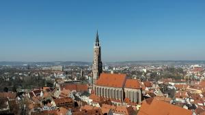 Luftaufnahme der Stadt Landshut
